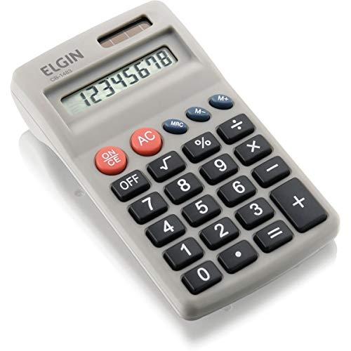 Calculadora de bolso Elgin 8 dígitos CB1483, Elgin, 42CB14830000, Preta