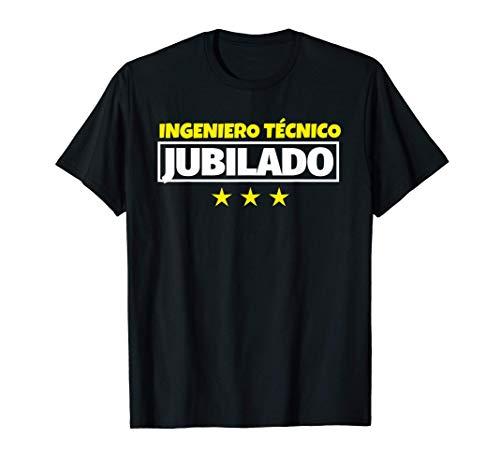 Ingeniero técnico Jubilado Regalo Camiseta