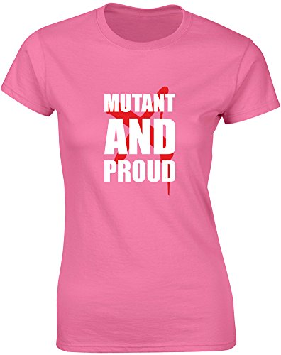 brand88–Mutant y Proud, Señoras Impreso Camiseta