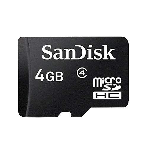 BVC - Tarjeta de Memoria MicroSD 4 GB - Clase 4, HC