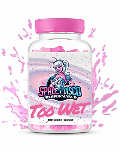 Too Wet Energy Supplement for Women | Mood Enhancer | Increase Energy, Vitality, Reduce Dryness & Balance Hormones | Proudly Made in The USA (60 Pills)