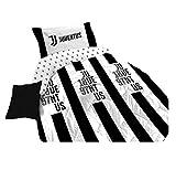 Juventus Piumone Trapunta Invernale 100% Cotone FC Originale Ufficiale (Matrimoniale cm 260x270)