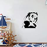 25 Home Décor Anime Wall Decals Decal Anime Manga Sexy Girl Pirate for Girls Room Bedroom Living Room