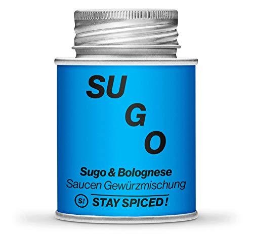 Sugo und Bolognese Gewürz von STAY SPICED ! I Verpackt in hochwertigen 170 ml Weißblechdose
