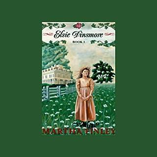 Elsie Dinsmore audiobook cover art