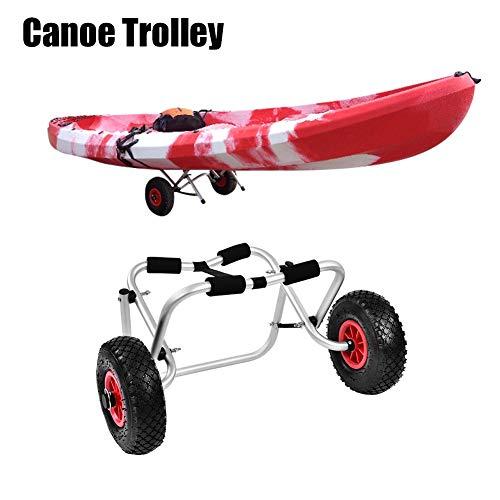AYNEFY Kayak Trolley, Aluminium Alloy Kayak Canoe Dolly Boat Carrier...