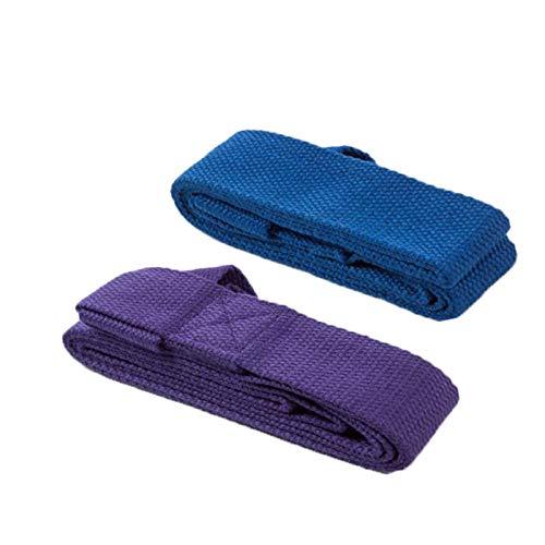 Paquete de 2 correa de para esterilla yoga para estirar con bucles-accesorios yoga