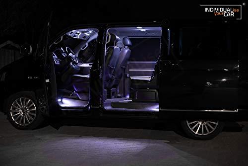 Innenraumbeleuchtung SET für T5 Multivan - Cool-White