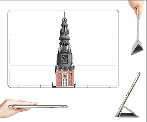 Case for iPad Air 3 (3rd Gen, 10.5-inch 2019) - Oude Kerk Amsterdam Architecture Building Church 1