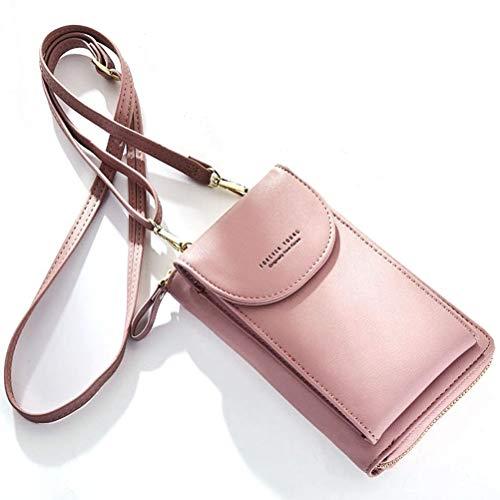 kleine Umhängetasche, Kunstleder, Schulter-Handytasche für Damen, passend für iPhone X, 8, 7 Plus, 6S, 6, 5S, 5C, Samsung Galaxy S8+, S7, S6, Edge, S5 Cross-Body-Bags