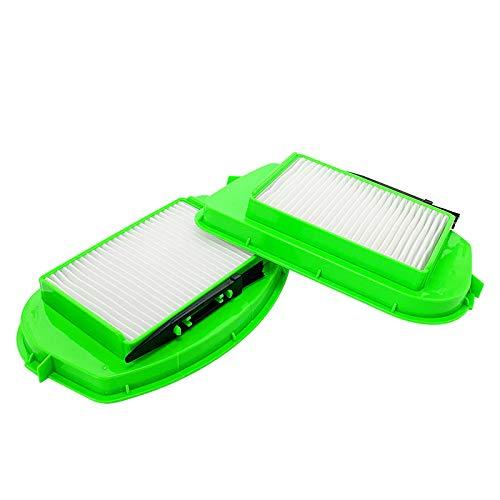 Kaxofang 2 Uds, Reemplazo de Filtro HEPA de Aspiradora para Rowenta Staubsauger RO535301, Accesorios de Filtros de Polvo para Aspiradora