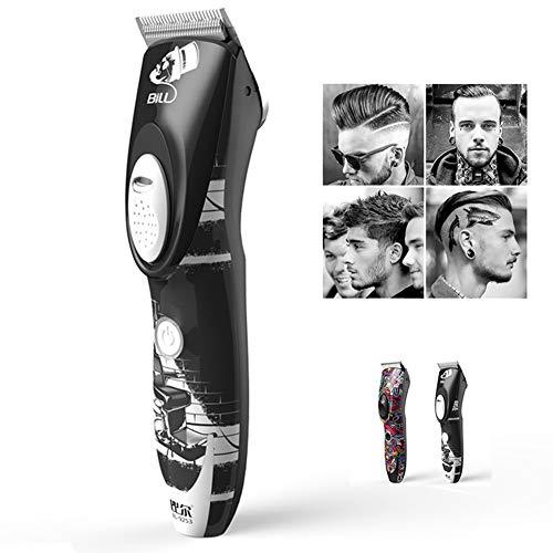 USB professionele tondeuse voor mannen, baard, scheerapparaat, tondeuse, oplaadbaar, voor salon Allsteelknife