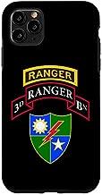 iPhone 11 Pro Max US Army Ranger - 3rd Battalion (BN) Scroll, Tab, DUI Case
