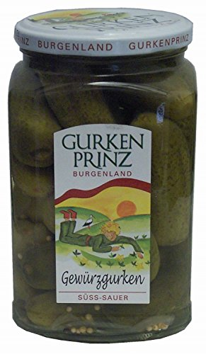 Cetrioli in agrodolce 720 ml. - Gurkenprinz