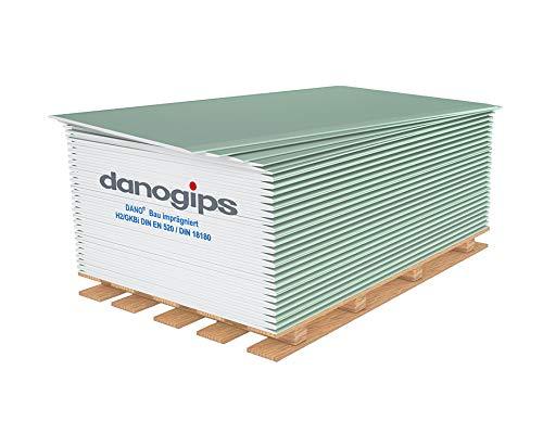 Gipskartonplatten 12,5 mm imprägniert