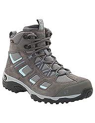 Jack Wolfskin Damen Vojo Hike 2 Texapore MID W Wasserdicht Trekking-& Wanderstiefel, Grau (Tarmac Grey 6011), 39 EU