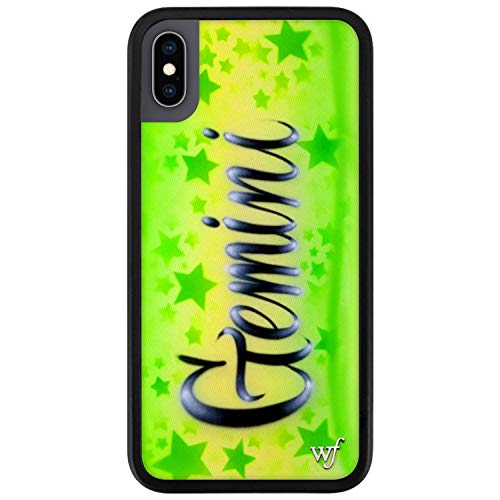 Wildflower Limited Edition Cases for iPhone X and XS, Zodiac Collection (Gemini)