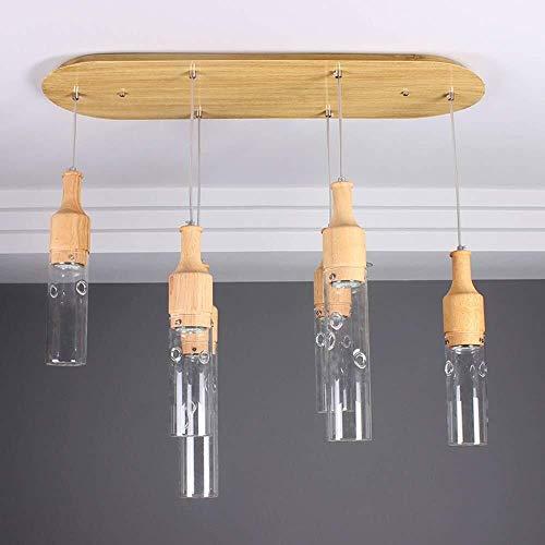 Plafondlamp Wandlamp Eenvoudige Glazen Hanglamp Glazen Plant Chandelier Creative Restaurant Cafe Bar Kroonluchters Living Room lampen Wandlampen