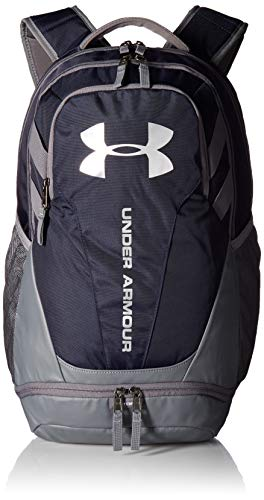 Under Armour UA Hustle 3.0, Zaino Unisex Adulto, Blu (Midnight Navy/Graphite/Silver 410), Taglia Unica