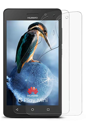 MoEx® Anti Reflex Displayschutzfolie kompatibel mit Huawei G Play Mini | Schutzfolie Matt Display Folie gegen Reflexionen, flexibel, 2X Stück