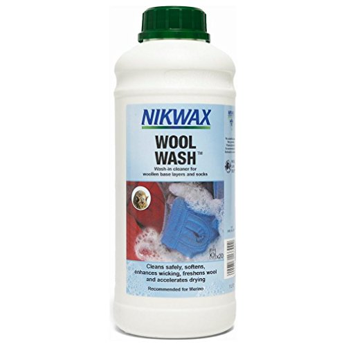 Nikwax 5020716133002 Wool Wash/High Performance Reiniger, 1 l
