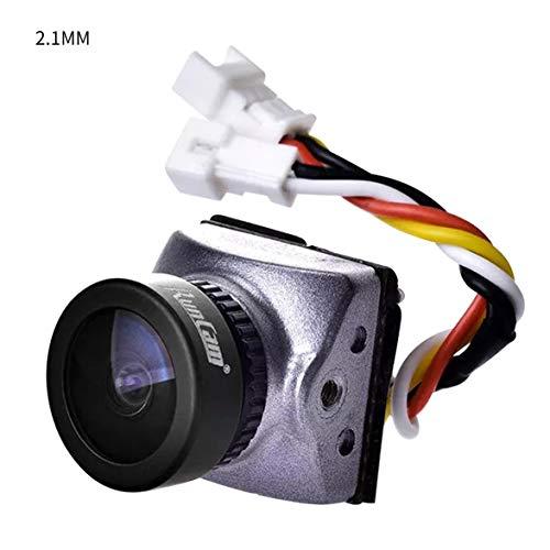 Heaviesk Runcam Racer Nano 700TVL Conmutable 1.8mm / 2.1mm Lente La cámara FPV más pequeña OSD Integrado de Baja latencia para FPV RC Drone