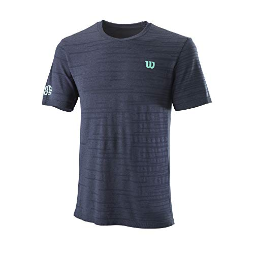 Wilson TRAINING V-NECK T-shirt Maglietta da Donna, Poliestere/Cotone, Bianco, Taglia XS, WRA775907XS