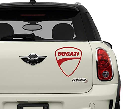 Ducati Automotive Brands Automotive Decal/Bumper Sticker