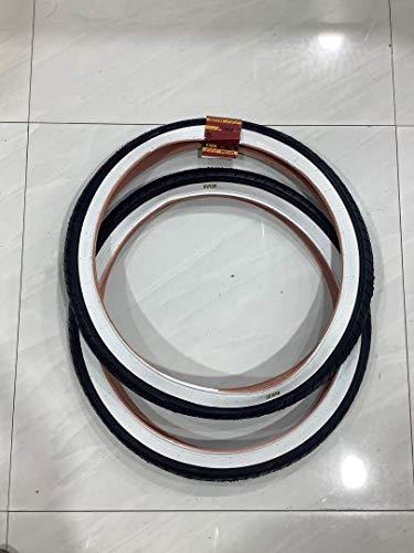 MZ PARTS MIAMI Tires 24x2.125 Two Tires. (White Wall)