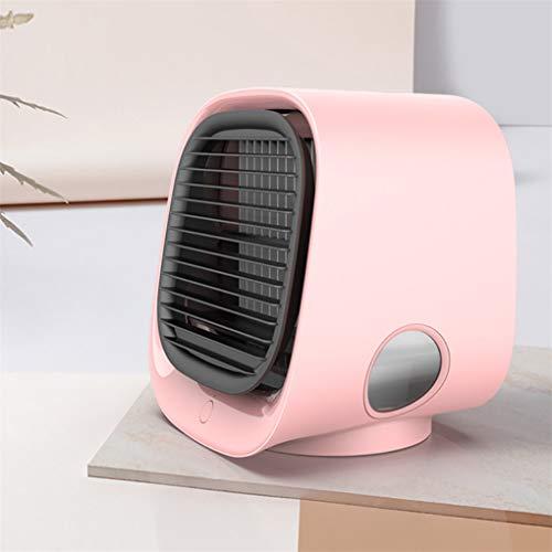 Skxinn Luftkühler Mobiles Klimageräte Ventilator, Klimaanlage Luftkühler, Klimageräte, Mini Persönliche Klimaanlage,Ideal für Arbeitsplatz und Daheim