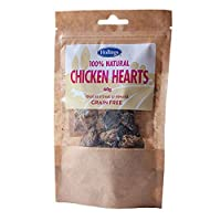 A delicious, super premium meaty treat Provide valuable nutrition made with simply 100 percent chicken hearts Compressed and air-dried to lock in all the natural flavour High in protein, highly digestible and will satisfy your dogs Promote healthy te...