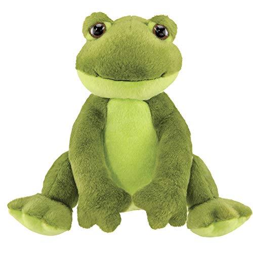 Bearington Ribbity Plush Stuffed Animal Frog, 8.5 Inches