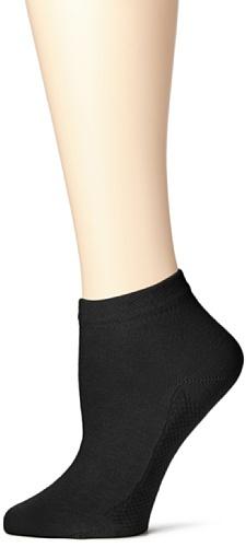 Hudson Damen Relax Cotton Dry Socken, Schwarz (Black 0005), (Herstellergröße: 39/42)