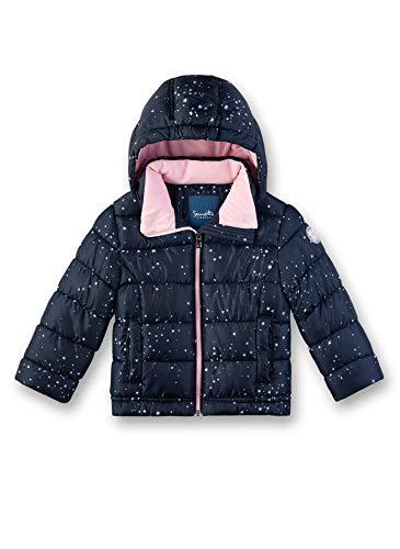 Sanetta Mädchen Outdoorjacket Fake Down Jacke, Blau (Nordic Blue 5962), 98 (Herstellergröße: 098)