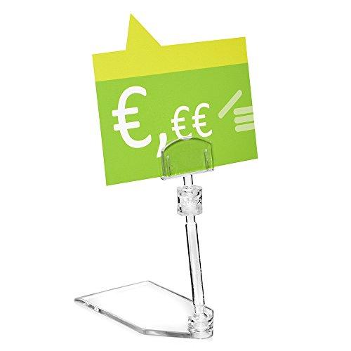 10pieza Precio Soporte para cartel (/Soporte Para Cartel (transparente para espacios
