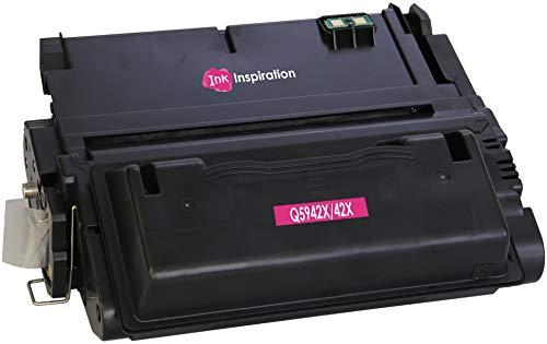 INK INSPIRATION® Tóner Compatible con HP Q5942X 42X Laserjet 4350, 4350dtn, 4350n, 4350tn, 4250, 4250dtn, 4250dtnsl, 4250n, 4250tn, 4240, 4240n | 20000 páginas