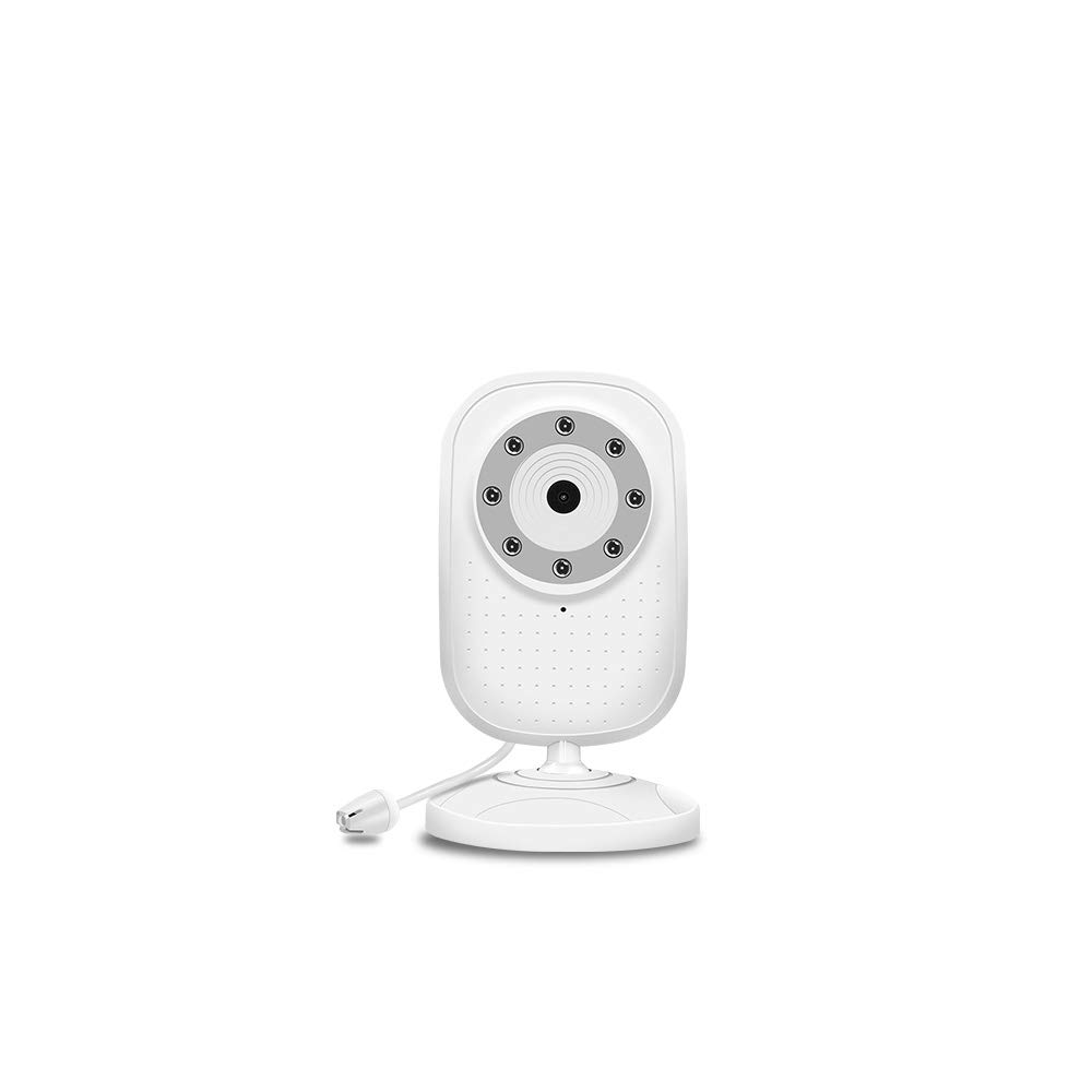 Add-on Baby Camera Unit for Peiloh Child Security Video Baby Monitor, Ideal for New Parents Easy to Pair and Clear Night Vision (CD-A3)