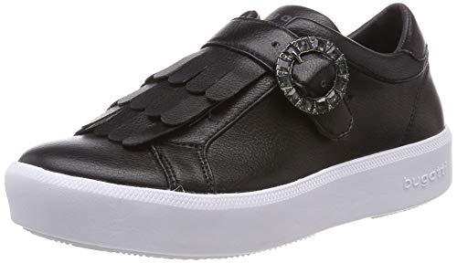 Bugatti Damen 432407655900 Slip On Sneaker, Schwarz (Schwarz 1000), 39 EU
