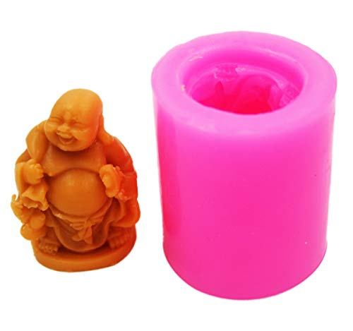 Longzang 3D Buddha Mould S277 Craft Art Silicone Soap Mold Craft Molds DIY Handmade soap molds