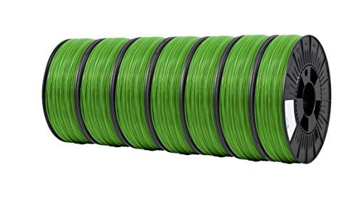 ICE FILAMENTS ICE7VALP122 Lot de 7 filaments en PET Transparent 2,85 mm 0,75 kg