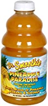 Dr. Smoothie Original Blend Smoothie, Pineapple Paradise 46-Ounce Bottle (Pack of 2)