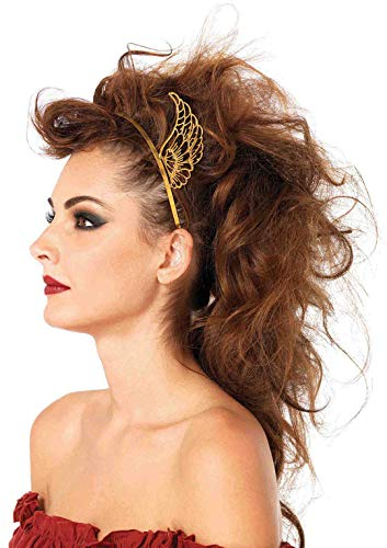 Leg Avenue Women's Pegasus Headband, Gold, One Size