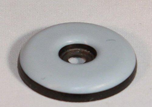 Teflon Möbelgleiter mit Schraube Ø 19mm Stärke 5mm - 16 Stück Teflongleiter Möbelschutz