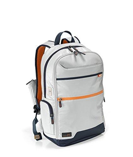 Hedgren Junction, Unisex-Erwachsene Daypack, Light Grey/Dark Blue (mehrfarbig) - HCCRS05R