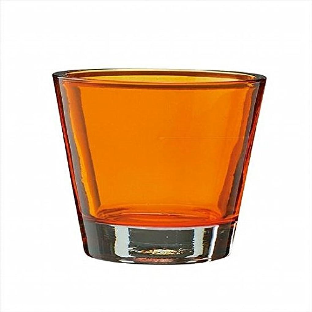 アレンジ気分飽和するkameyama candle(カメヤマキャンドル) カラリス 「 オレンジ 」 キャンドル 82x82x70mm (J2540000OR)