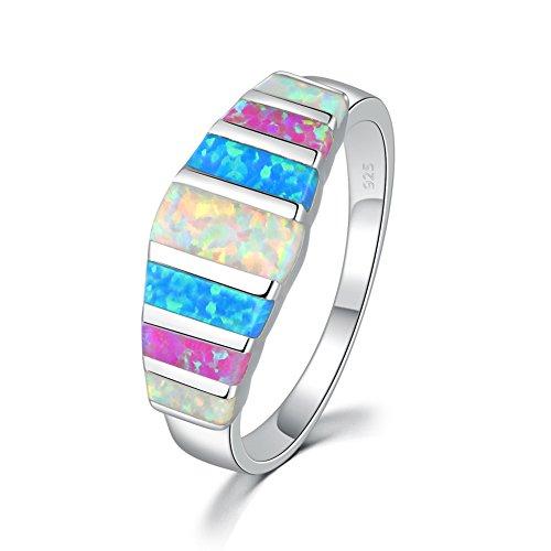 10 best ocean blue fire opal ring black for 2021