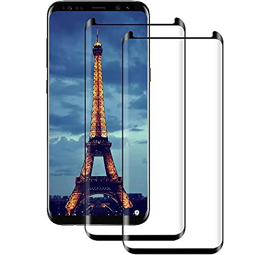 Panzerglas für Samsung Galaxy S9 Plus, HD Panzerglasfolie für Samsung S9 Plus, Volle Abdeckung, Anti-Scratch, Anti-Fingerabdruck, Fallfreundlich Displayschutzfolie-2 Stück