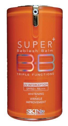 Cosmetic Skin79 Super + Beblesh Balm BB Triple Functions (SPF50+ PA+++) Orange Label 40g by Skin79