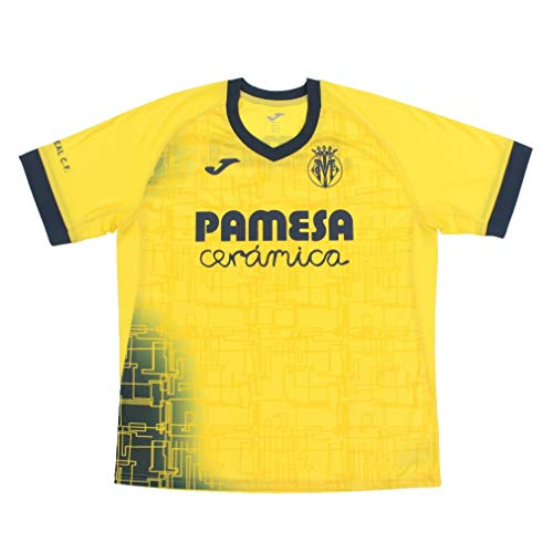 Joma Villarreal CF Training 2020-2021, Camiseta, Amarillo, Talla M