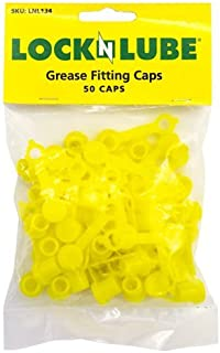 Best LockNLube Grease Fitting Caps (50 Count) (Yellow) Review